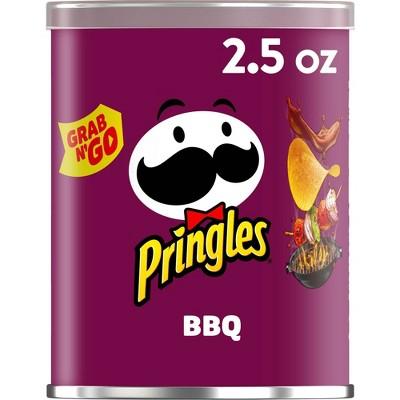 Pringles Grab & Go Large BBQ Potato Crisps - 2.5oz