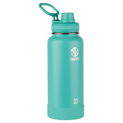 Takeya Actives 32oz Insulated Stainless Steel Water Bottle with Insulated Spout Lid - image 1 of 5