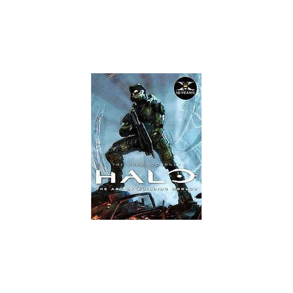 Halo : The Art of Building Worlds (Reprint) (Hardcover) (Martin Robinson)