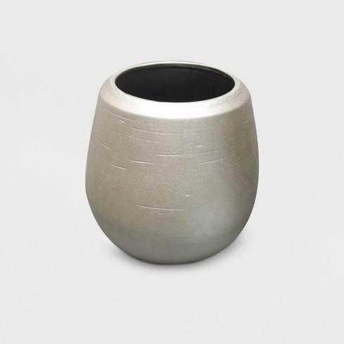 Champagne Ceramic Planter Gold - Opalhouse™ - image 1 of 2