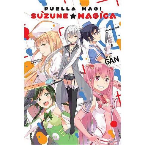 Puella Magi Suzune Magica, Vol  1 - by Magica Quartet (Paperback)