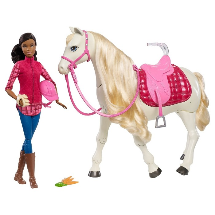 Barbie® Dream Horse and African American Doll - image 1 of 10