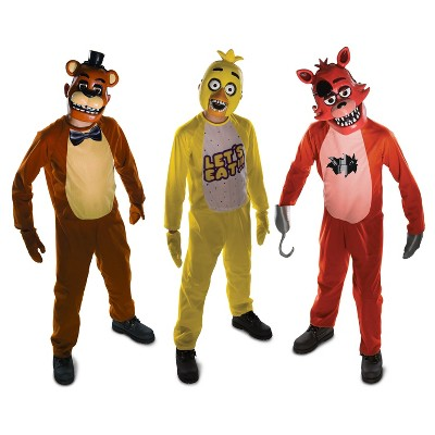 Nightmare Freddy Adult Costume Five Nights at Freddy/'s