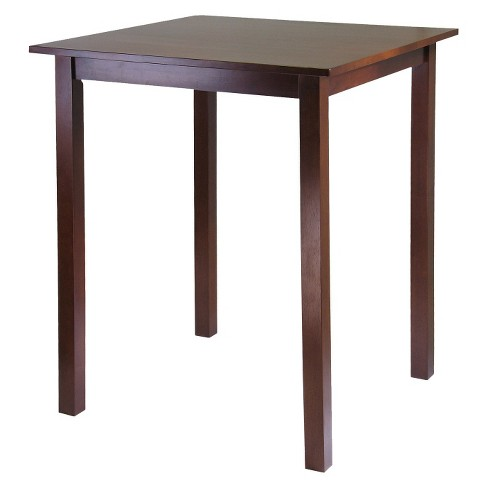 Parkland High Square Table Wood/Antique Walnut - Winsome - image 1 of 1