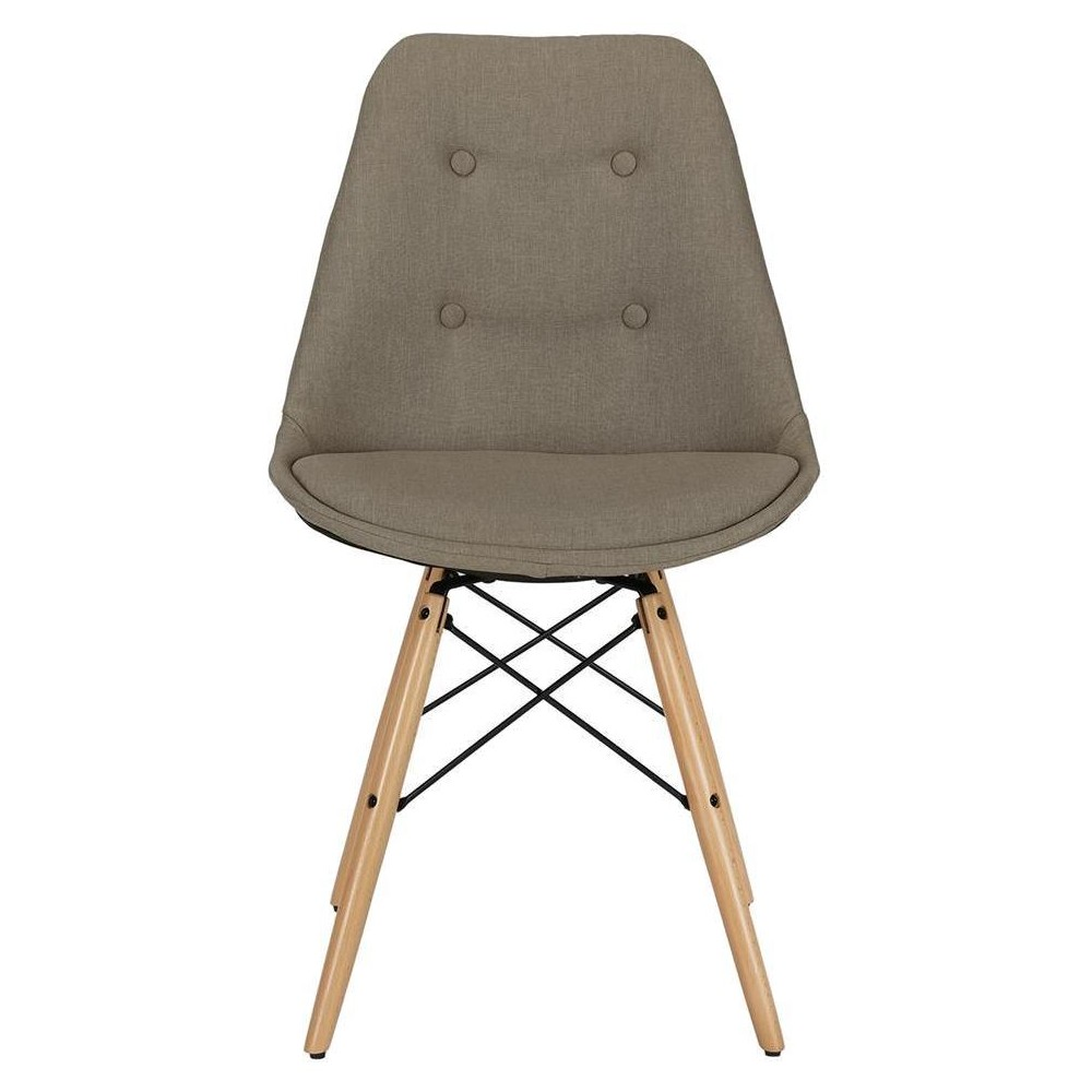 Image of Albany Dining Chair - Gray - Dorel Home Products