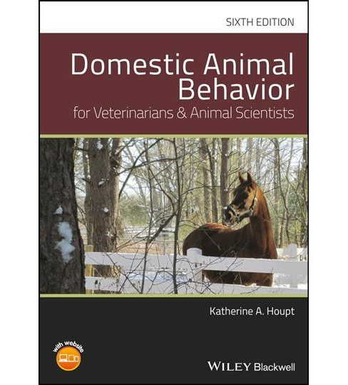 Domestic Animal Behavior for Veterinarians and Animal Scientists -  by Katherine A. Houpt (Hardcover) - image 1 of 1