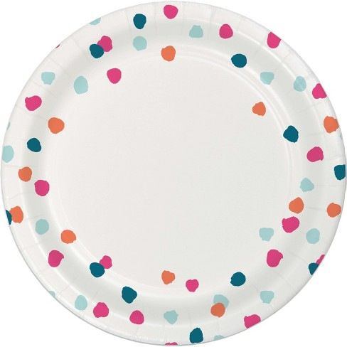 30ct White Paper Plates - image 1 of 1