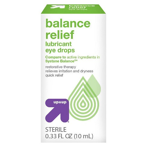 Lubricant Eye Drops Balance Relief - 0.33 fl oz - Up&Up™ (Compare to active ingredients in Systane Balance) - image 1 of 1