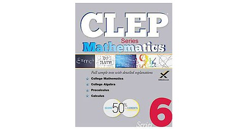 CLEP Mathematics Series (Paperback) (Sharon A. Wynne) - image 1 of 1