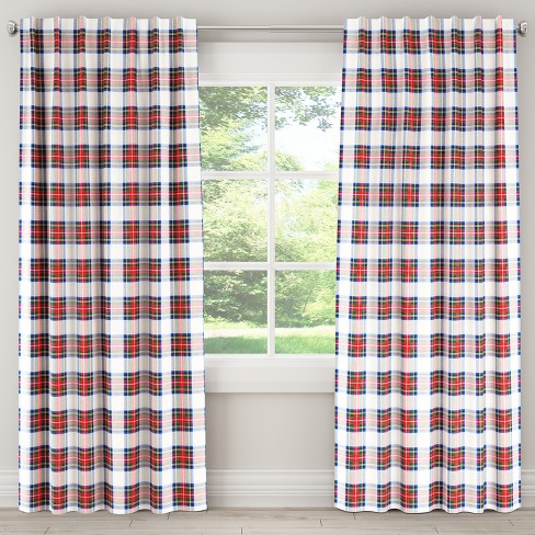 Unlined Curtain Stewart Dress Multi- Skyline Furniture - image 1 of 4
