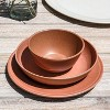 45oz Melamine and Bamboo Dinner Bowl Brown - Threshold™ - image 2 of 3