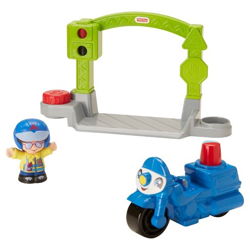 Fisher-Price Little People Stop and Go Police Motorcycle - image 1 of 7