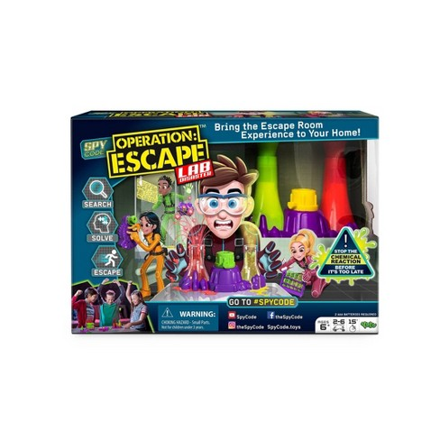 Yulu Operation Escape Lab Board Game - image 1 of 4