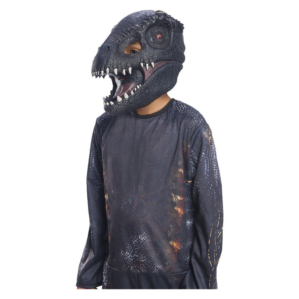 Adult Jurassic World Fallen Kingdom Villain Dinosaur Costume Mask, Adult Unisex, Multi-Colored