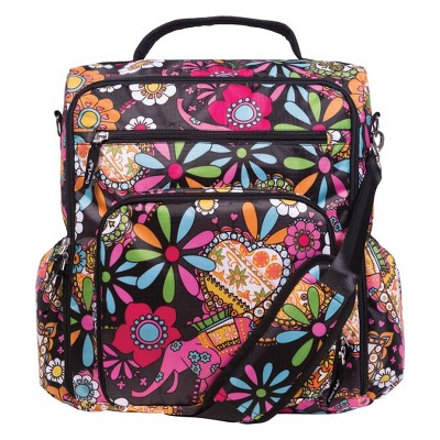 Trend Lab Convertible Backpack Diaper Bag - Bohemian Floral