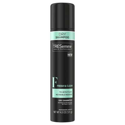 Dry Shampoo: TRESemmé Fresh & Clean Dry Shampoo