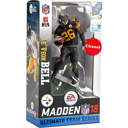 new concept e99a8 f8f06 McFarlane Toys NFL Pittsburgh Steelers EA Sports Madden 18 Ultimate Team  Series 2 Le'Veon Bell Action Figure [Color Rush Chase Version]