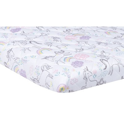 Trend Lab Playard Sheet - Playful Unicorn