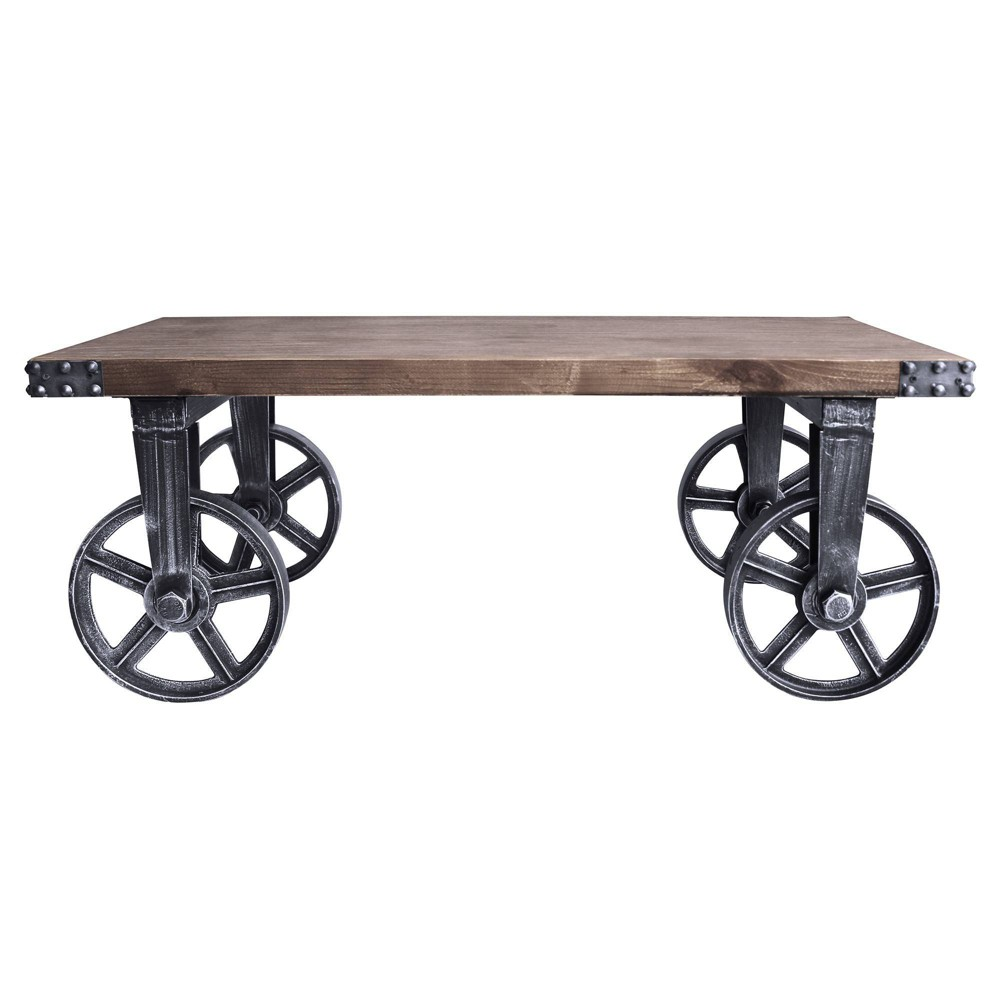 Image of Avaris Industrial Coffee Table Pine - Modern Home