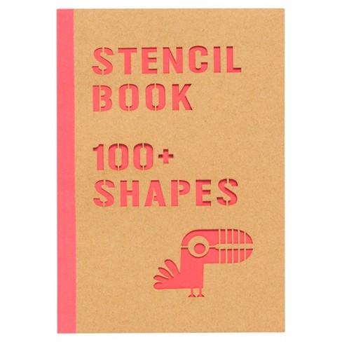 Yoobi™ Stencil Book - 8 Sheets, 100+ Shapes - image 1 of 3