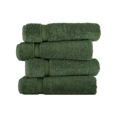 4pc Villa Bath Towel Set Green - Royal Turkish Towel