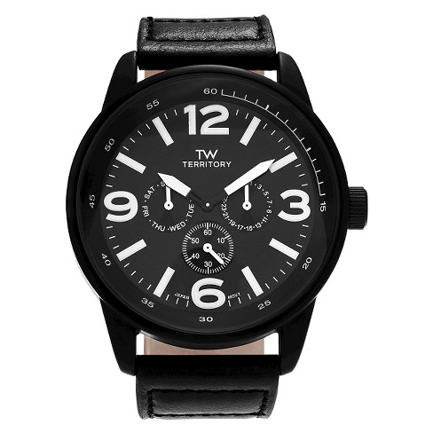 Men's Territory Round Face Multifunction Strap Watch - image 1 of 3