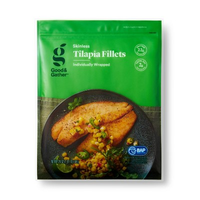Tilapia Skinless Fillets - Frozen - 24oz - Good & Gather™