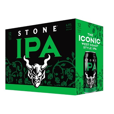 Stone IPA Beer - 12pk/12 fl oz Cans