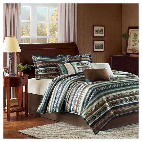 Blue Beau Comforter Set 7pc 7pc - image 1 of 4