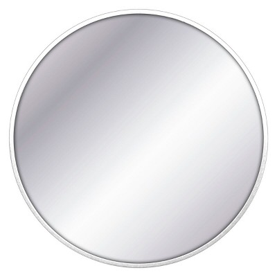 32  Round Decorative Wall Mirror White - Project 62™