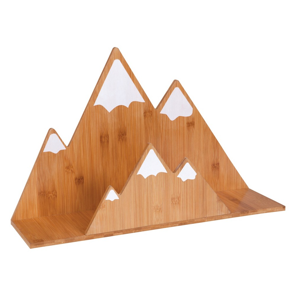 Image of Trend Lab Wall Shelf - Mountain Bamboo, Brown