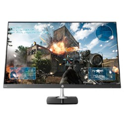 "HP N270H 27"" Gaming Monitor Black & Silver - Full HD Monitor - IPS LED Display - 1920 x 1080 resolution - 60Hz refresh rate - 5ms response time"