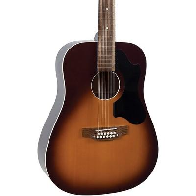 Recording King RDS-9-12-TS Dirty 30s 9 12-String Acoustic Guitar Tobacco Sunburst