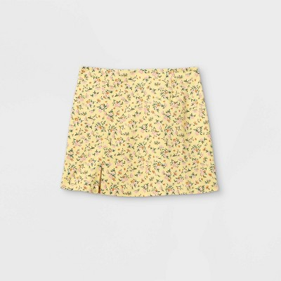 Girls' Notch Front A-Line Skirt- art class™