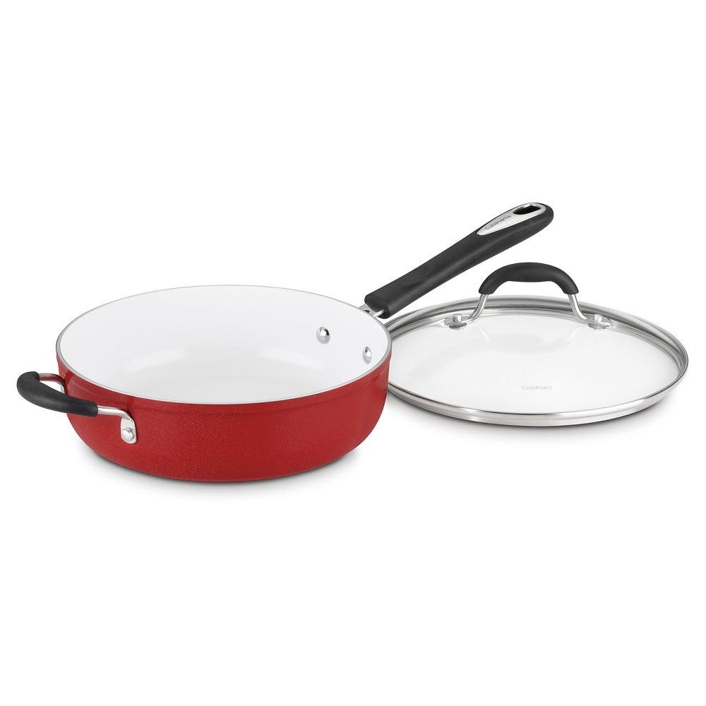 Cuisinart Elements Nonstick 5.5 quart Sauté Pan - Red 5933-30HR