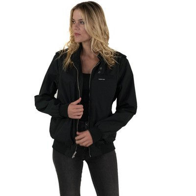Members Only Women's Classic Iconic Racer Jacket (Men's Cut)