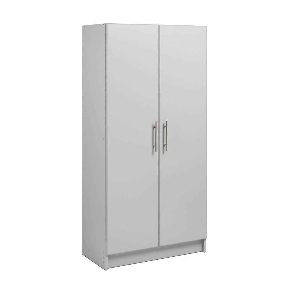 "Image of ""32"""" Elite Storage Cabinet Light Gray - Prepac"""