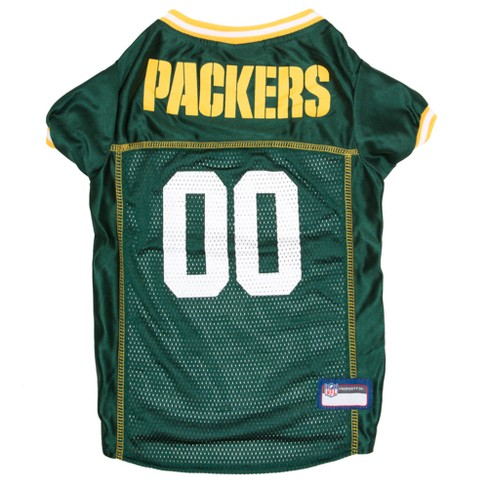 NFL Pets First Mesh Pet Football Jersey - Green Bay Packers - image 1 of 2