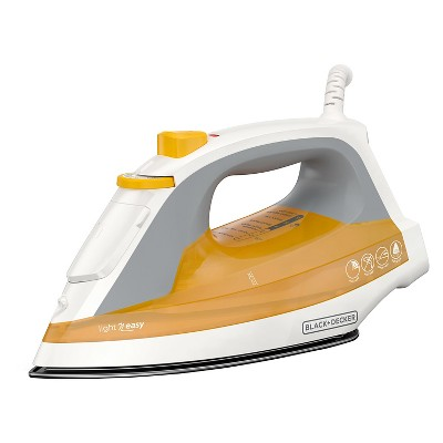 BLACK+DECKER™ Light 'N Easy Steam Iron - Slate