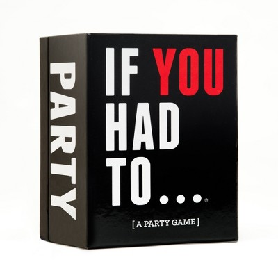 If You Had To - A Party Game