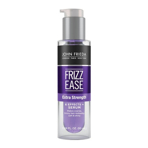 john frieda frizz ease  Frizz Ease Extra Strength 6 Effects Serum - 1.69oz : Target