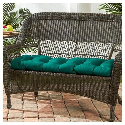 Outdoor Sunbrella Swing/Bench Cushion   Kensington Garden