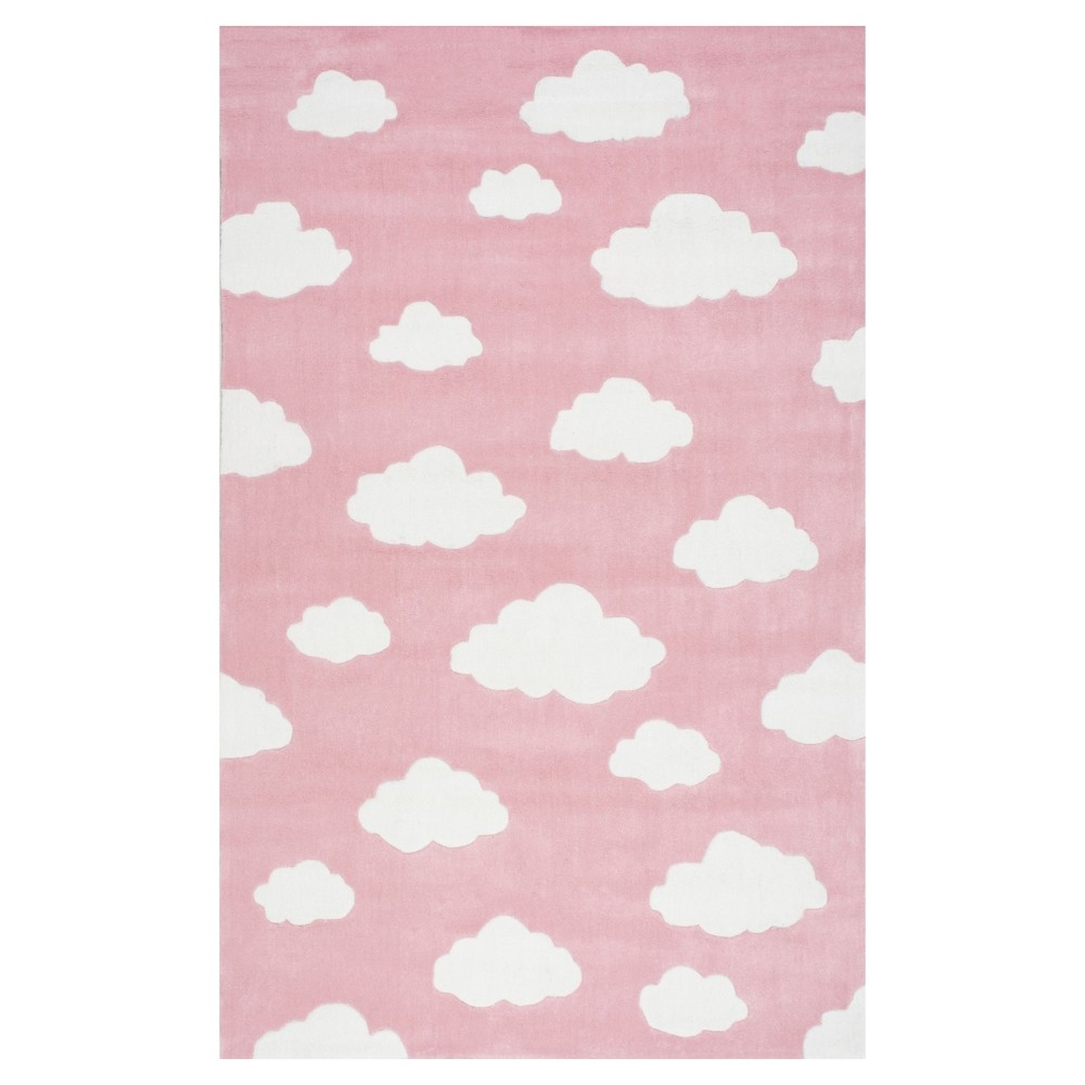 Pink Abstract Tufted Area Rug 8'X10' - nuLOOM