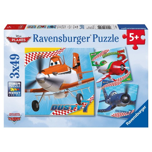 Ravensburger Disney Planes: 3pk Dusty And Friends 147pc Puzzle - image 1 of 4