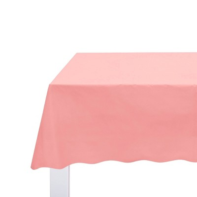"""54"""" x 108"""" Solid Table Cover Light Pink - Spritz™"""