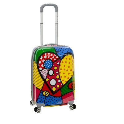 "Rockland Vision 20"" Carry On Suitcase"