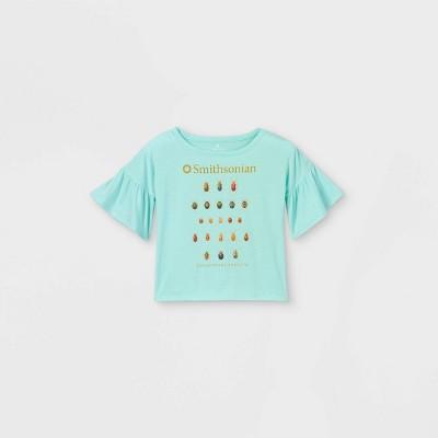 Girls' Smithsonian Puff Short Sleeve T-Shirt - Green