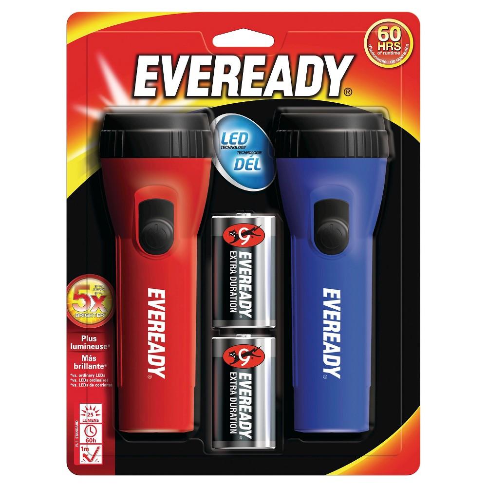 Eveready 2pk Led Flashlight