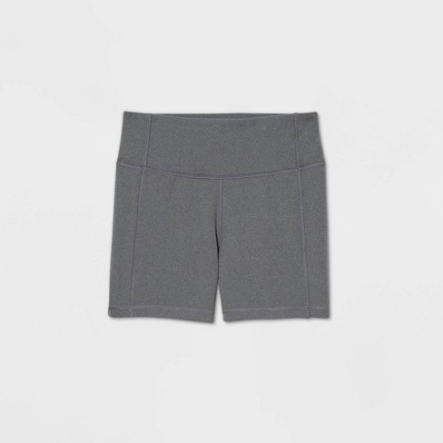 """Women's Contour Power Waist Mid-Rise Shorts 4"""" - All in Motion™ - image 1 of 1"""
