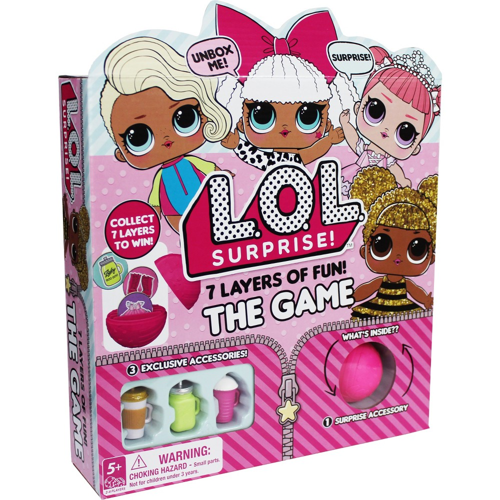 L.O.L. Surprise! 7 Layers of Fun Game, Kids Unisex